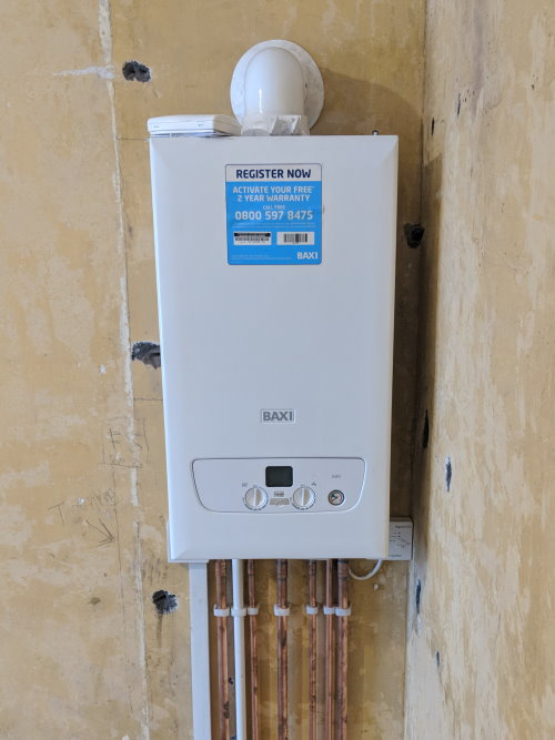 New Baxi central heating