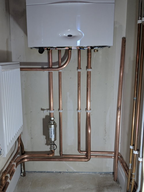 New Bosch heating system